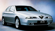 Alfa Romeo 166 1998 to 2007 (Type 936) Alloy Wheels and Tyre Packages.