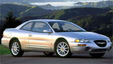 Chrysler Sebring Coupe 1995 to 2000 (1st Generation) Alloy Wheels and Tyre Packages.