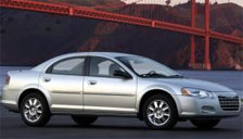 Chrysler Sebring Sedan 2001 to 2006 (2nd Generation) Alloy Wheels and Tyre Packages.