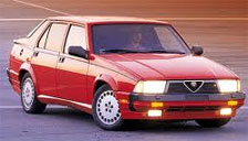 Alfa Romeo 75 1985 to 1992 (5 Studs) Alloy Wheels and Tyre Packages.