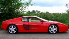 Ferrari Testarossa Alloy Wheels and Tyre Packages.