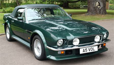 Aston Martin V8 Volante 1998 to 2001 Alloy Wheels and Tyre Packages.