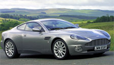 Aston Martin Vanquish 2002 to 2004 Alloy Wheels and Tyre Packages.