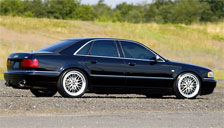 Audi S8 1998 to 2002 Alloy Wheels and Tyre Packages.