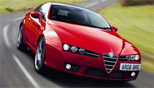 Alfa Romeo Brera 2005 to 2010 (Type 939) Alloy Wheels and Tyre Packages.