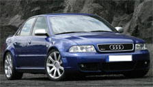 Audi RS4 1999 to 2001 (B5) Alloy Wheels and Tyre Packages.