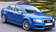 Audi RS4 2005 to 2008 (B7) Alloy Wheels and Tyre Packages.