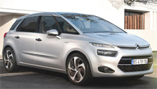 Citroen C4 Picasso 2013 to 2018 (MK2) Alloy Wheels and Tyre Packages.