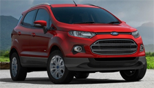 Ford Ecosport Alloy Wheels and Tyre Packages.