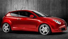 Alfa Romeo Mito 2008 to 2018 (Type 955) Alloy Wheels and Tyre Packages.