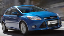 Ford Focus Alloy Wheels and Tyre Packages.