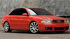 Audi A4 1994 to 2001 (B5) Alloy Wheels and Tyre Packages.