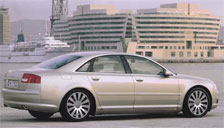 Audi A8 2002 to 2005 (D3) Alloy Wheels and Tyre Packages.