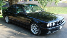 BMW 5 Series 1988 to 1995 (E34) Alloy Wheels and Tyre Packages.