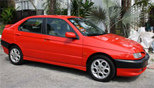 Alfa Romeo 146 1994 to 2001 (Type 930) Alloy Wheels and Tyre Packages.