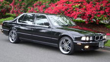 BMW 7 Series 1986 to 1994 (E32) Alloy Wheels and Tyre Packages.