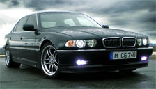 BMW 7 Series 1994 to 2001 (E38) Alloy Wheels and Tyre Packages.