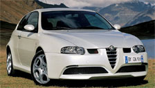 Alfa Romeo 147 2000 to 2010 (Type 937) Alloy Wheels and Tyre Packages.