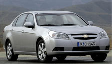 Chevrolet Epica 2006 to 2011 Alloy Wheels and Tyre Packages.