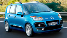 Citroen C3 Picasso  2008 to 2019 Alloy Wheels and Tyre Packages.