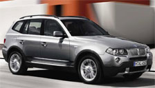 BMW X3 2003 to 2010 (E83) Alloy Wheels and Tyre Packages.