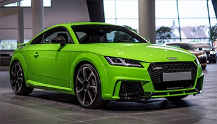 Audi TT RS 2016 to 2018 (FV3) Alloy Wheels and Tyre Packages.