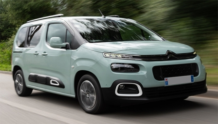 Citroen Berlingo 2018 to 2019 (3rd Generation) Alloy Wheels and Tyre Packages.