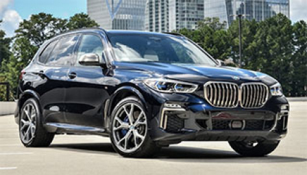 BMW X5 2018 to 2019 (G05) Alloy Wheels and Tyre Packages.