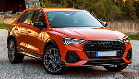 Audi Q3 2018 to 2019 (Typ F3) Alloy Wheels and Tyre Packages.