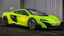 McLaren 675LT Coupe Alloy Wheels and Tyre Packages.