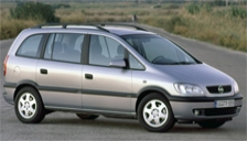 Chevrolet Zafira Alloy Wheels and Tyre Packages.