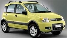 Fiat Panda 4x4 Alloy Wheels and Tyre Packages.