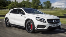 Mercedes GLA Class (AMG) Alloy Wheels and Tyre Packages.