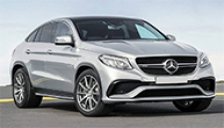 Mercedes GLE63 AMG Coupe Alloy Wheels and Tyre Packages.