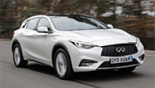 Infiniti Q30 Alloy Wheels and Tyre Packages.
