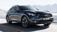 Infiniti QX70 Alloy Wheels and Tyre Packages.