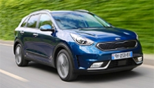 Kia Niro Alloy Wheels and Tyre Packages.