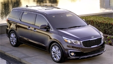 Kia Sedona Alloy Wheels and Tyre Packages.