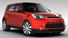 Kia Soul Alloy Wheels