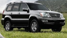 Lexus GX 470 Alloy Wheels and Tyre Packages.