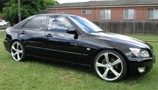 Lexus IS 200 Alloy Wheels and Tyre Packages.