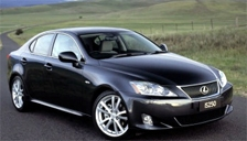 Lexus IS 250 Alloy Wheels and Tyre Packages.