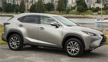 Lexus NX Alloy Wheels and Tyre Packages.