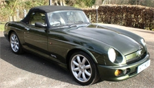 MG RV8 Alloy Wheels and Tyre Packages.