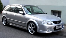 Mazda 323 Alloy Wheels and Tyre Packages.