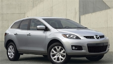 Mazda CX 7 Alloy Wheels and Tyre Packages.