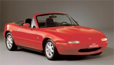Mazda Eunos Alloy Wheels and Tyre Packages.
