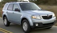 Mazda Tribute Alloy Wheels and Tyre Packages.