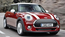 Mini Cooper Hatchback Alloy Wheels and Tyre Packages.