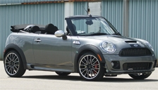 Mini Cabrio JCW Alloy Wheels and Tyre Packages.